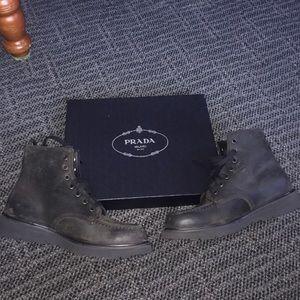 Prada Boots size 10 Never Worn